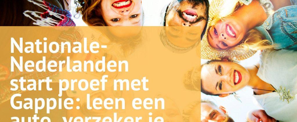 gappie nationale nederlanden deeleconomie