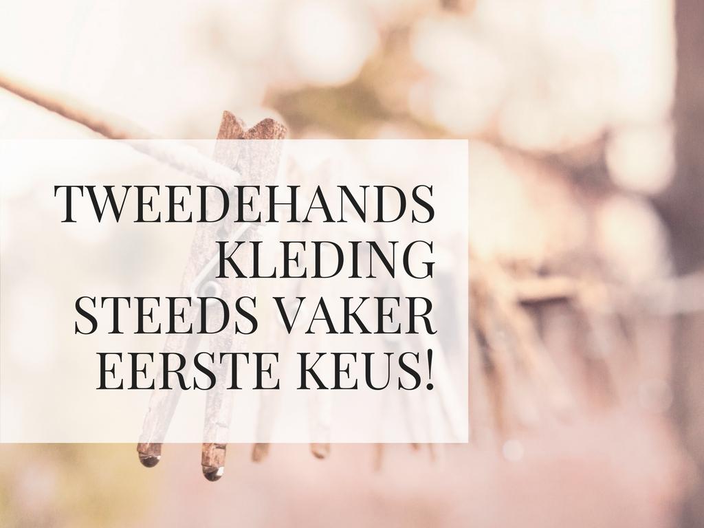 Kleding In Nederland.Tweedehands Kleding Steeds Vaker Eerste Keus Deeleconomie In Nederland